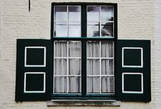 Windows seria Zdjęcie Stock