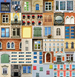 Windows-Set Stockfotos