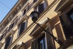 Windows and shades. Royalty Free Stock Photos