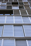 Windows shading, Barcelona, Spain Stock Photo