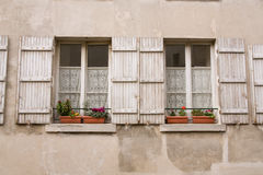 Windows shutters Stock Photography