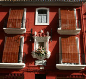 Windows with shutters Royalty Free Stock Photos