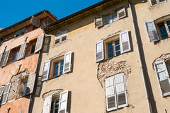 Windows Shutters Grasse France Stock Photo