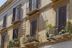 Windows and shutters Royalty Free Stock Image