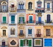 Windows from Sicily Stock Images