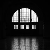 Windows in Silhouette Stock Images
