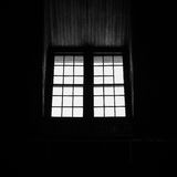 Windows in Silhouette Royalty Free Stock Photo