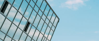 Windows and sky Stock Images