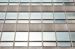 The windows of a skyscraper. Royalty Free Stock Images