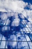 Windows of skyscraper stock photos