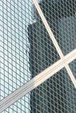 Windows of a skyscraper, Hong Kong.  stock photos
