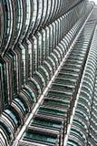 Windows on the Skyscraper in Malaysia Stock Photography