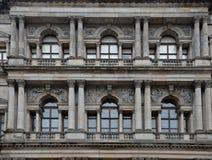 Windows som ögon royaltyfri fotografi
