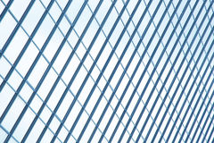 Windows som bygger exponeringsglas, reflekterar Royaltyfria Foton