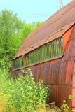 Windows stary hangar Zdjęcie Stock