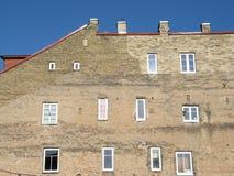 Windows stary miasteczko zdjęcie stock