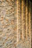 Windows and Stone Walls Royalty Free Stock Image