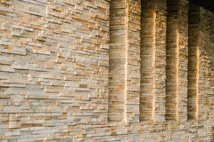 Windows and Stone Walls Royalty Free Stock Photography