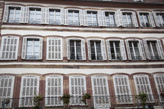 The windows of Strasbourg Royalty Free Stock Photos