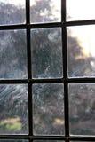 Windows sucio Foto de archivo libre de regalías