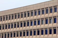 Windows sull'alta costruzione Fotografia Stock Libera da Diritti
