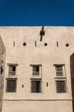 Windows sulla fortificazione del deserto Fotografia Stock