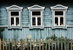 Windows in Suzdal (Russland) Lizenzfreies Stockbild
