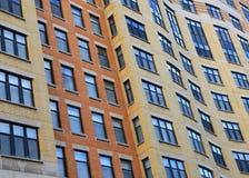 Windows of tall building Stock Photo