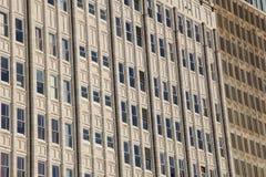 Windows of tall buildings Stock Photos