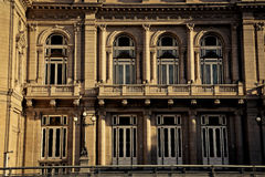 Windows of Teatro Colón Royalty Free Stock Photography