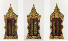 Windows of temple Royalty Free Stock Images