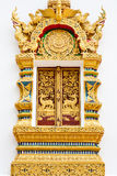Windows of Temple in chiang Mai, thailand Royalty Free Stock Photos
