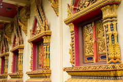 Windows in temple Royalty Free Stock Photo
