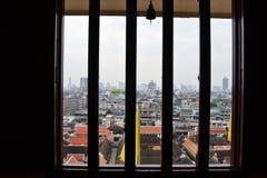 Windows Thai style Stock Image