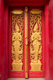 Windows of Thai temple Stock Image