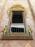 The windows of the Thai temple. Stock Images