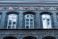 The windows of Town hall, Lübeck Royalty Free Stock Photography