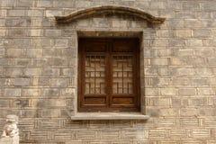 Windows tradycyjni chińskie architektura zdjęcie royalty free