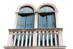 Windows und Blendenverschlüsse. Stockbilder