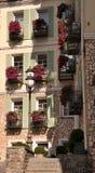 Windows und Blumen Stockfotografie