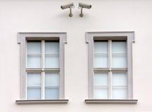 Windows under surveillance Stock Photography