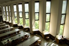 Windows, University Library Royalty Free Stock Photography