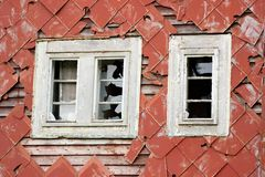 Windows velho Imagem de Stock Royalty Free