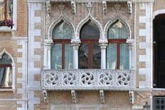 Windows Venezia Fotografie Stock Libere da Diritti