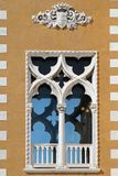 Windows of Venice Stock Photography