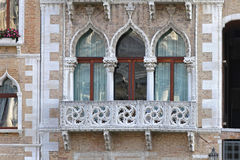 Windows Venice Zdjęcia Royalty Free