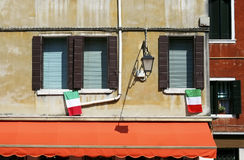 Windows in Venice Royalty Free Stock Photo