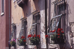 Windows in Venice. Italy Royalty Free Stock Photo