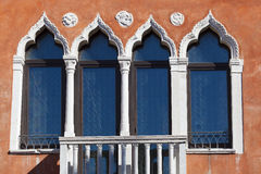 Windows in Venice Stock Photo