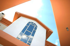 Windows of villa Stock Images
